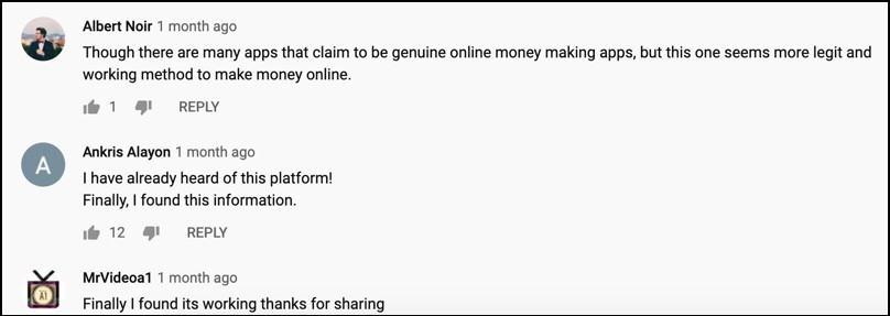 Social Bounty fake YouTubers