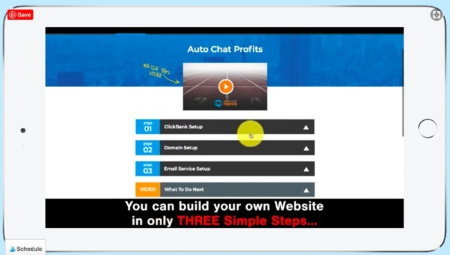 Auto Chat Profits demo
