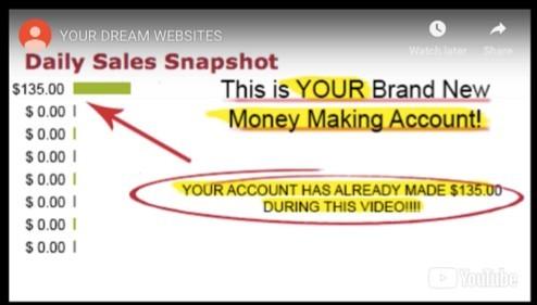 Account already made money!