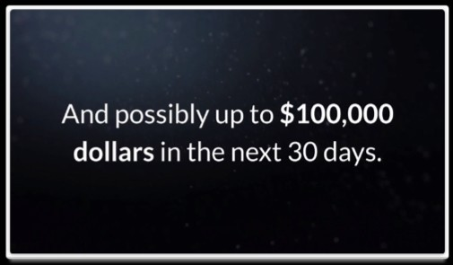 Cash Formula $100,000 in 30 days
