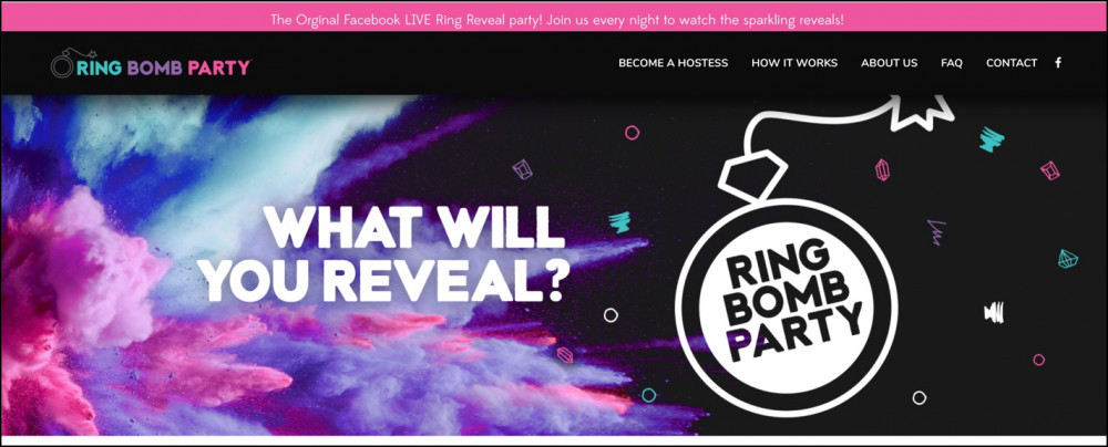 Ring Bomb Party Homepage