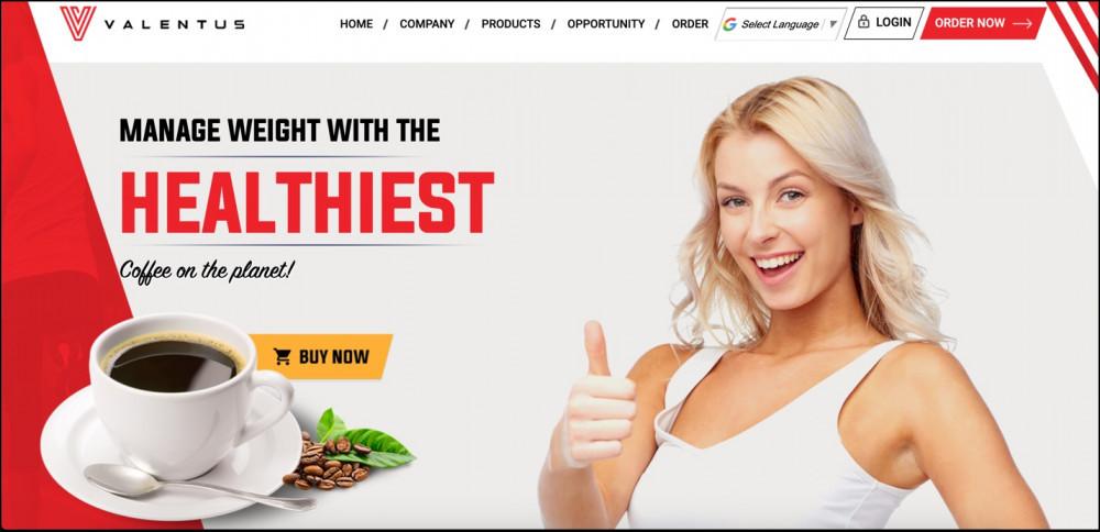 Valentus Homepage