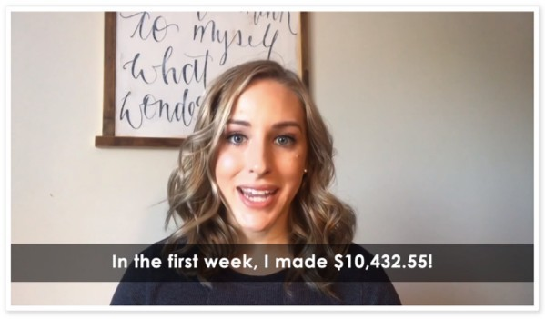 This woman claims she made over $10,000 in her first week using Bulletproof Profits