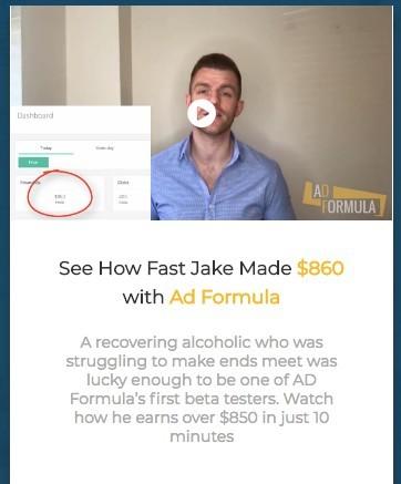 Ad Formula Testimonial Guy