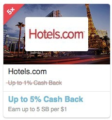Hotels.com at Swagbucks