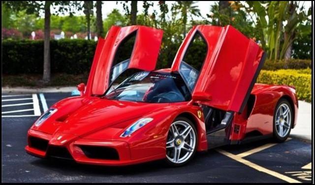 This Ferrari isn't Ewan's.
