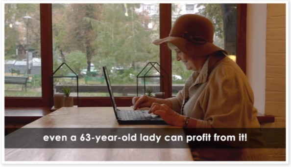 Even a 63-year-old lady can profit from Bulletproof Profits