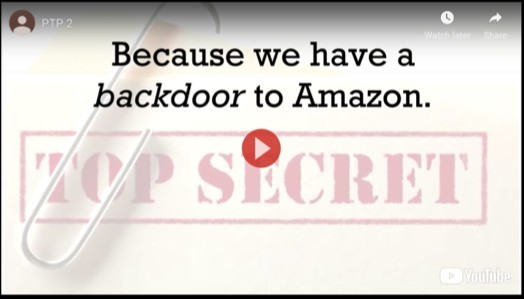 Top Secret Backdoor to Amazon