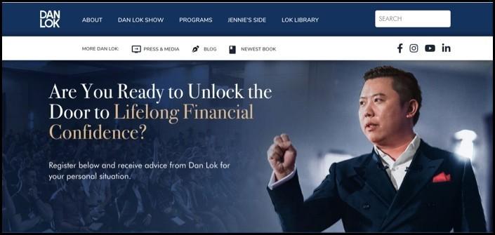 Dan Lok FU Money Review - Dan's Homepage