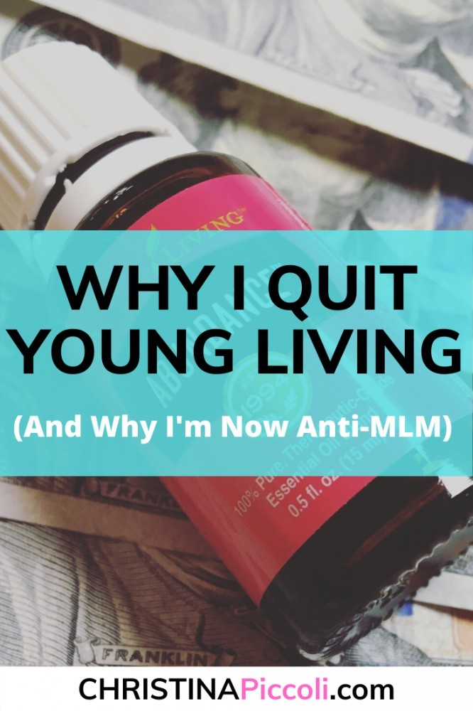 Why I Quit Young Living Pinterest
