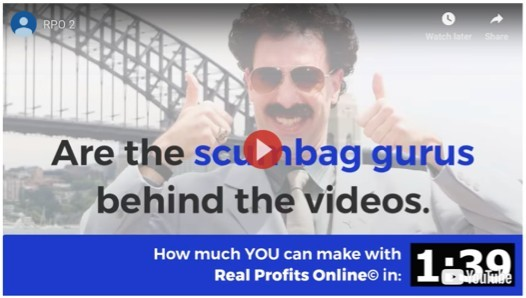 Real Profits Online Sales Video