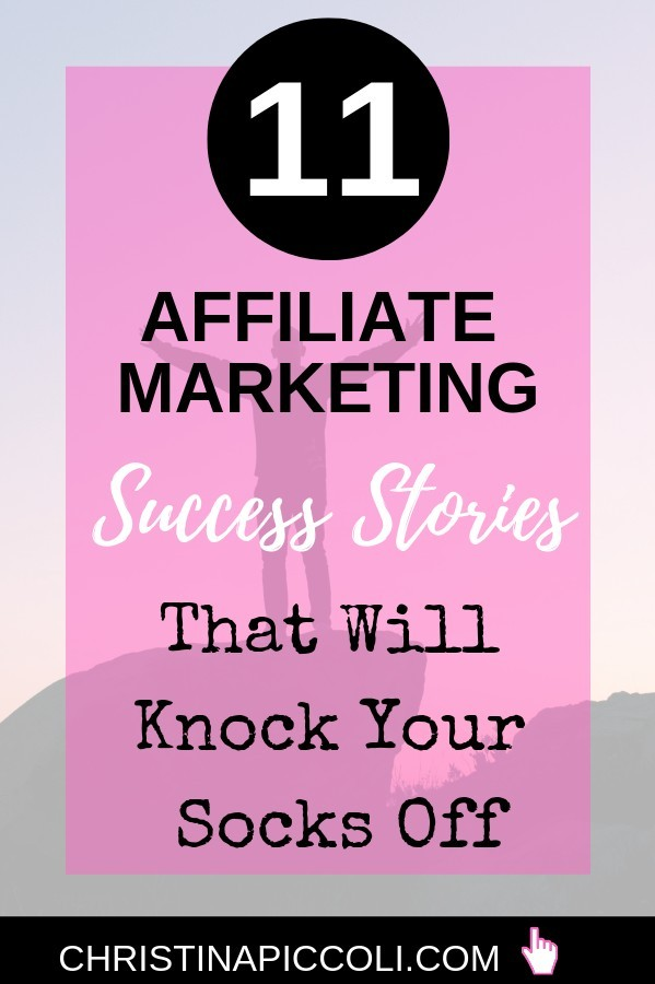 Affiliate Marketing Success Stories for Pinterest