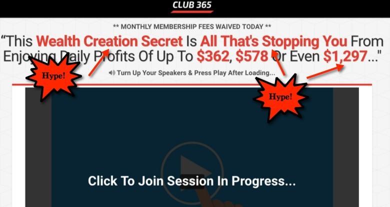 Club 365 Hype