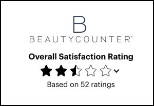 2.5 stars for Beautycounter at Consumer Affiars