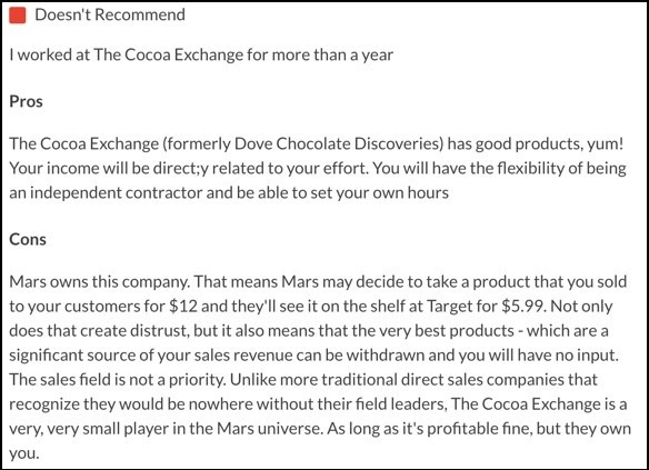 The Cocoa Exchange complaint