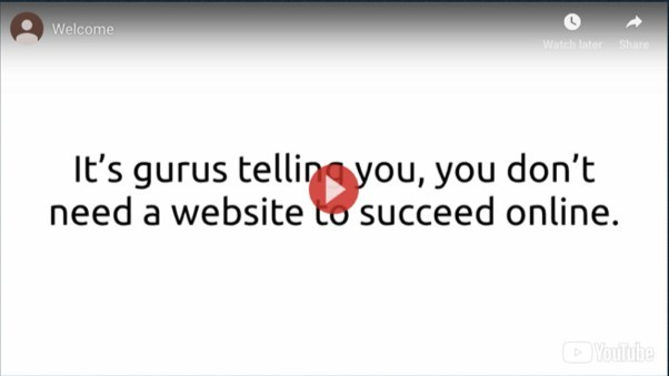 Money Sucking Website Sales Video