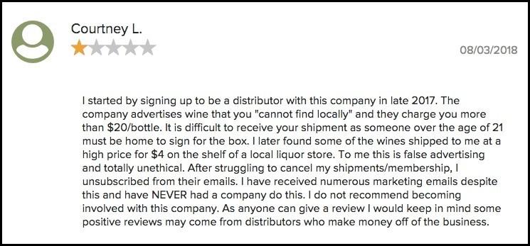 Direct Cellars complaint.