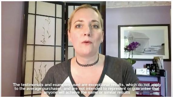 Testimonial Lady