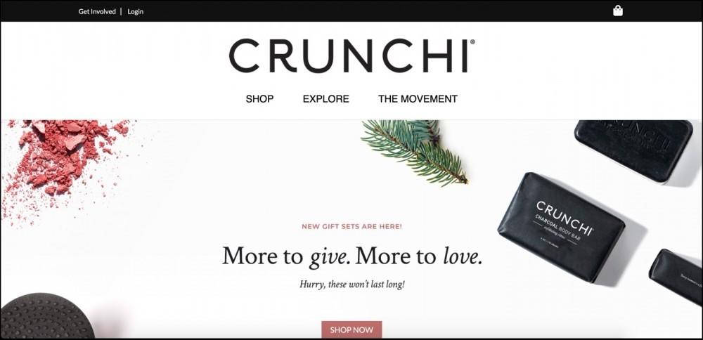 Crunchi homepage
