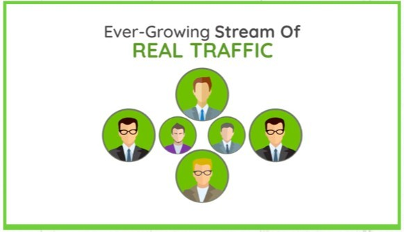 See an ever-growing stream of real traffic