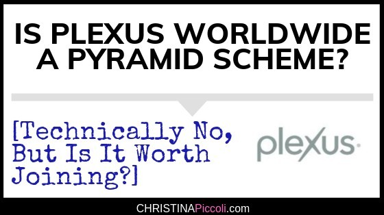 Is Plexus a Pyramid Scheme?