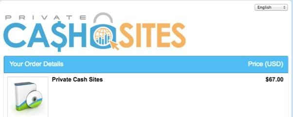 Private Cash Sites