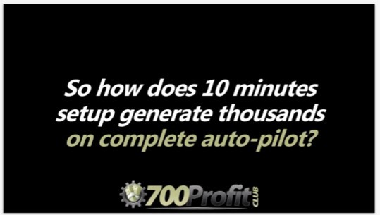 700 Profit Club Sales Video