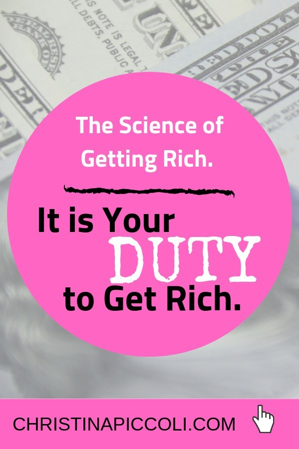 The Science of Getting Rich for Pinterest