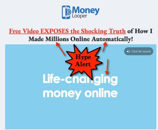 Money Looper Sales Video