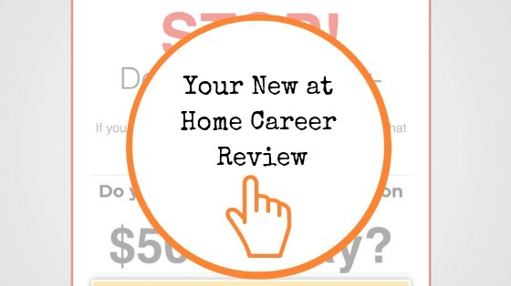 Your New At Home Career Review