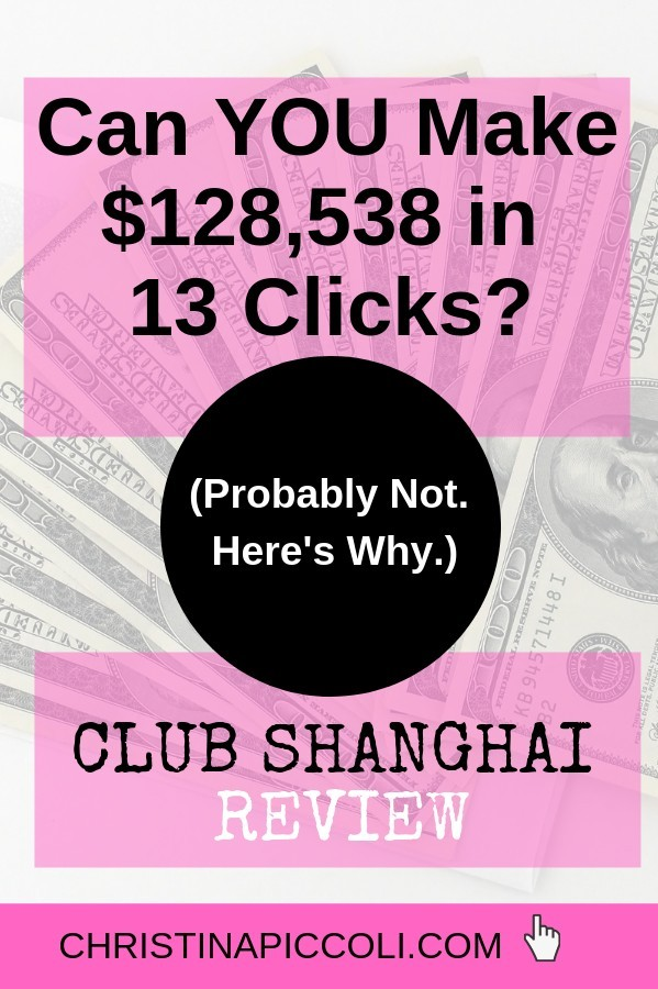 Club Shanghai Review