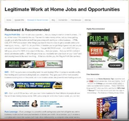 Plug-In Profit Site YouTube