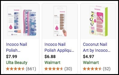 Incoco is the same as Color Street.