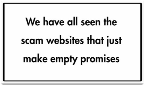 The Retired Millionaire scam websites make empty promises