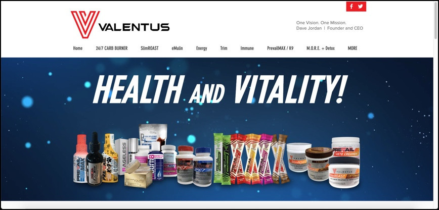 Valentus Products are healthy?