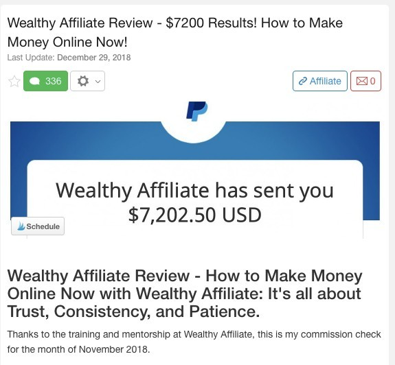 Affiliate Marketing Success Story 4