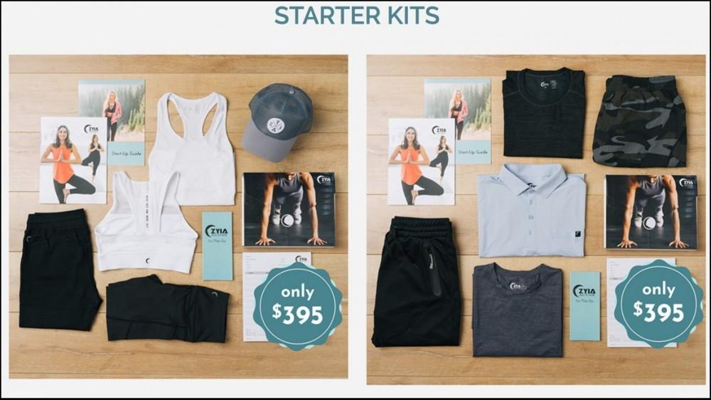 Zyia Active Starter Kits