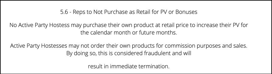 You can't buy your own PV.