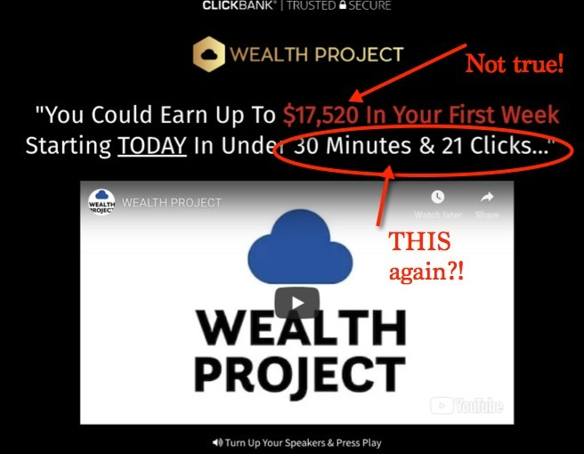 Wealth Project Sales Video