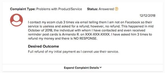 Click and Flip Complaint 1