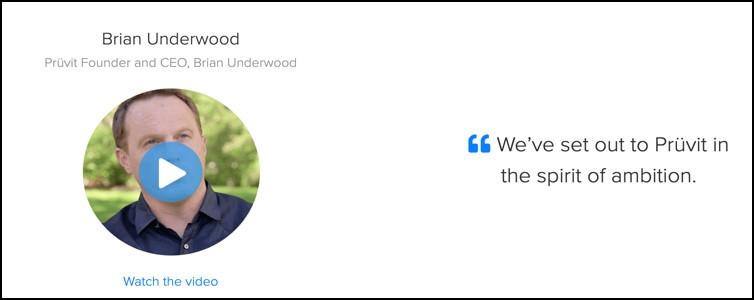 Pruvit CEO Brian Underwood