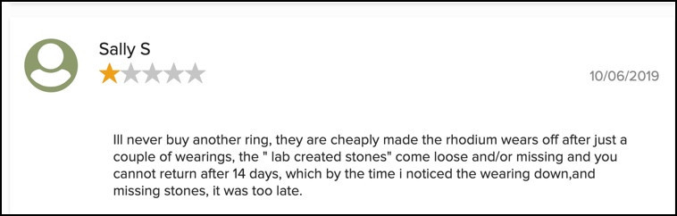 Ring Bomb Party complaint