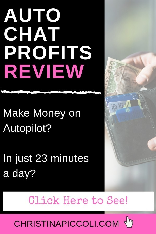Auto Chat Profits Review for Pinterest