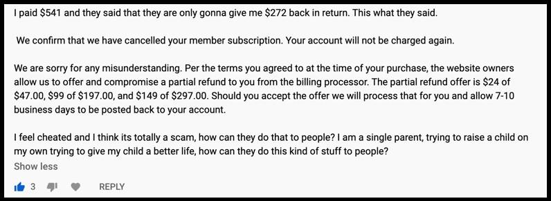 Cash Point ATM complaint 2
