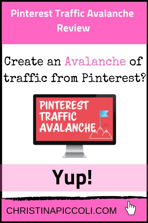 Pinterest Traffic Avalanche for Pinterest