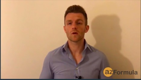 AZ Formula Testimonial Guy