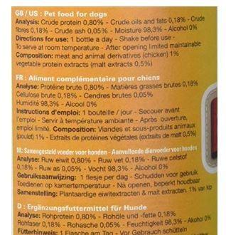 Snuffle Dog Beer Ingredients