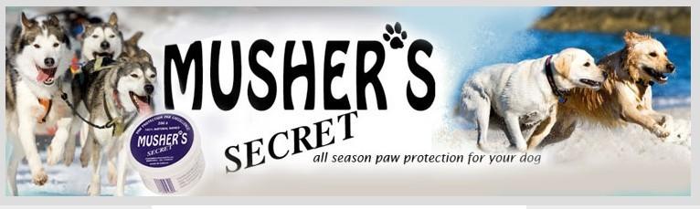 Mushers Secret logo