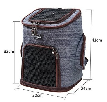 PetsFit Dog Backpack measures