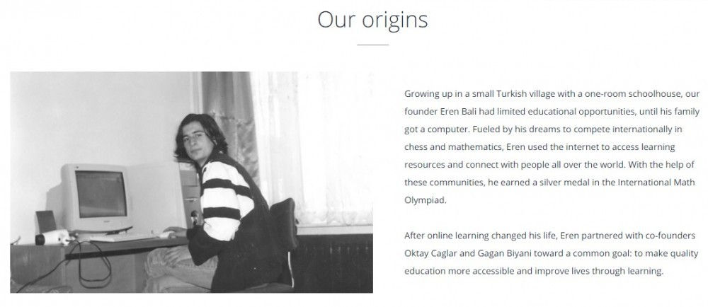 The origins of Udemy